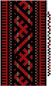Duodji Crochet Bedspread Pattern, Tapestry Crochet Patterns, Fair Isle Knitting Patterns, Knitting Charts, Loom Knitting, Inkle Weaving Patterns, Bead Loom Patterns, Loom Weaving, Beading Patterns