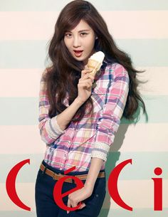 Girls' Generation's Seohyun CéCi Korea Magazine March Issue