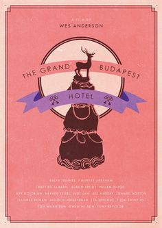 isobelmackenzieillustration:Film Poster WIPThe Grand Budapest Hotel - Wes Anderson
