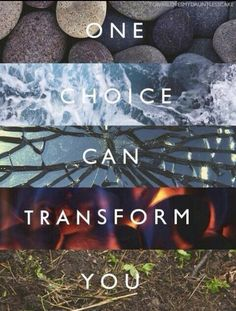 Make your choice but... if you make the wrong choice DO NOT let that choice destroy you. You're stronger than you think!