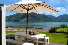 Idyllic Beachside at Mahau Sound - Mahau Sound Holiday HomeOutdoor Living
