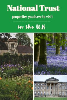 National Trust Properties You Have To Visit ♥ | When in the U.K. you HAVE to visit these stunningly beautiful National Trust properties! #NationalTrust #UKTravel #UKdaysout #FamilyFriendlyUK #daysoutUK #Outdoors #PlacesToGo