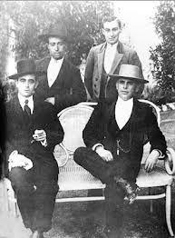 Guerra, Machaquito, Lagartijo, Gallo