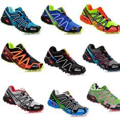 2013 Hot New Men s Salomon Speedcross 3 Athletic Running Sports Man Shoes  Outdoor US 7 Wholesale Solomon Trail Racing-in Men s Shoes fr. 4fe898a494c51