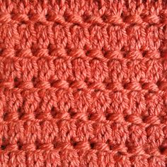 The Dash stitch is an easy stitch that requires basic increase and decrease techniques to achieve. This stitch is done in a 4-row repeat and in a multiple of 2 stitches.
