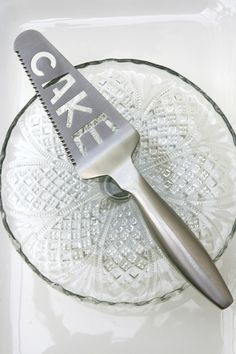 Cake spatula.