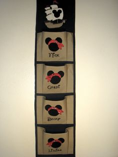 Custom Pirate Disney 4 Pocket Fish Extender by FairyTaleEmbroidery, $48.95
