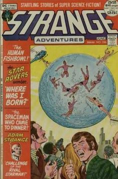 Dc - June - Approved By The Comics Code Authority - The Human Fishbowl - Star Rovers