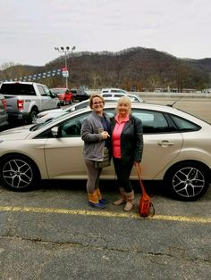 Johnny Dickens & the rest of the Turnpike Ford Family wish to thank Kara Huffman & Patricia Hager for their business 😃👍 #TurnpikeFord