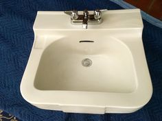 Crane Yorkshire Lavatory Sink and Faucet | eBay