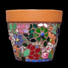 Ideas para decorar Macetas de ceramica-7