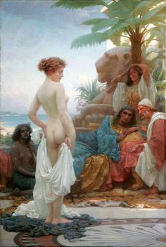 Scottish painter William Russell Flint (1880 - 1969).1.@