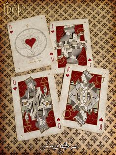 Heretic Playing Cards (KS) - page 1 - Playing Card Plethora - PlayingCardForum.com - A Discourse For Playing Cards