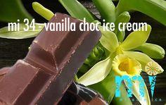 "mi 43 - ""vanilla choc ice cream""   .      2-3 minuten vers gemaakt I met pure chocolade Vanilla, Cocktails, Ice Cream, Vegetables, Food, Craft Cocktails, No Churn Ice Cream, Icecream Craft, Essen"