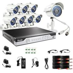 Special Offers - Zmodo KHI8-YARUZ8ZN 8-Channel H.264 960H DVR Security System with 8 700TVL IR Cameras Light Grey - In stock & Free Shipping. You can save more money! Check It (September 12 2016 at 10:17PM) >> http://motionsensorusa.net/zmodo-khi8-yaruz8zn-8-channel-h-264-960h-dvr-security-system-with-8-700tvl-ir-cameras-light-grey/