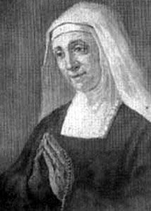 Blessed Anna Felicia Viti. After her mother's death, she raised her eight siblings. She then became a Benedictine nun, spending 70 years in the order. She never learned to read or write, and did all the average chores for her house - and prayed non-stop.