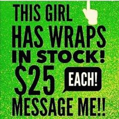 Get yours today.   Looking for 3 more PRODUCT testers, get your 40% off to try a different or the same product for 3 months. If you already have something you're using but it's not quite what you were looking for, why not try what I have to offer? You can compare it to what you're already using. #WrapsWithBarbie  www.wrapswithbarbie.myitworks.com  225-810-9262