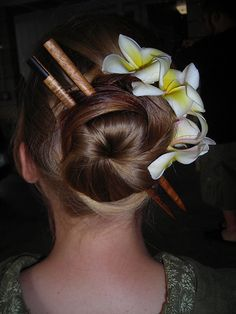 Chopstick Hair on Pinterest | Hair Sticks, Small Forehead and ...
