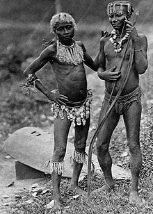 The Andamanese are believed to be descended from the migrations which, about 60,000 years ago, brought the first modern humans out of Africa to the Andaman Islands.The Andamanese people are the various aboriginal inhabitants of the Andaman Islands, a district of India located in the southeastern part of the Bay of Bengal.  The Andamanese resemble other Negrito groups in Asia. They are pygmies, and are the only modern people outside of certain parts of Africa with steatopygia.