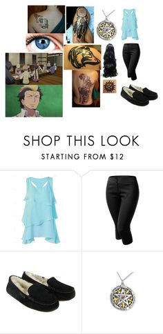 """""""Blue exorcist boot camp/meeting up"""" by rhianna1996 ❤ liked on Polyvore featuring J.TOMSON and UGG Australia"""