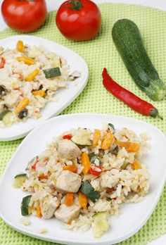 Chicken Risotto with Healthy Vegetables | Recipe Publishing Network