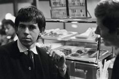 Keith Richards and Andrew Loog Oldham, Lunch Picture by Philip Townsend