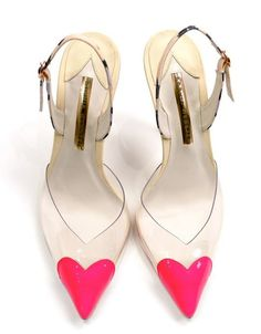 Shoes like Candy: Sophia Webster.  These hearts!