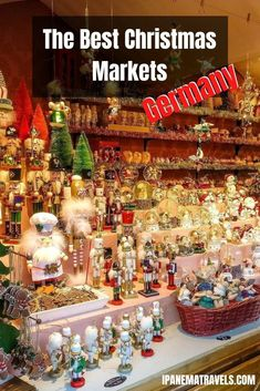 A collection of the 12 best Christmas Markets in Germany with 2020 dates, tips for visiting the German Christmas markets, where to stay, what to eat at the Christmas Market in Germany and what to buy at the Christmas market.