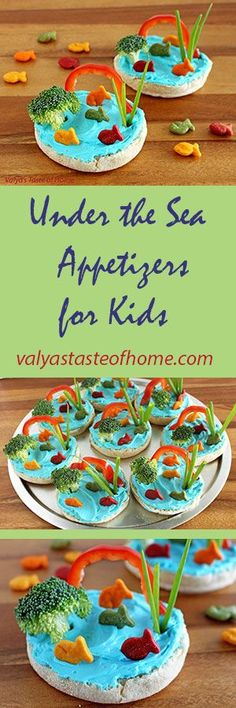 Under the Sea Appetizers for Kids http://valyastasteofhome.com/under-the-sea-appetizers-for-kids