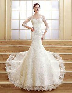 Mermaide wedding dress