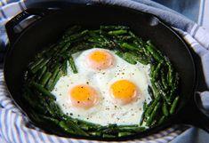 Eggs & Asparagus Nest [USA]