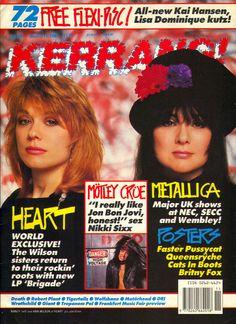 Heart Kerrang Magazine