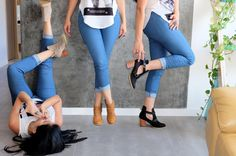 www.amakashoes.com Capri Pants, Boots, Fashion, Crotch Boots, Moda, Capri Trousers, La Mode, Heeled Boots, Fasion