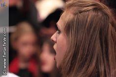 Ana Pérez, solista, en el Concierto de Coros y Orquesta de la Escuela Municipal de Música Luigi Boccherini de Arenas de San Pedro en el VII Festival Luigi Boccherini de Mayo de 2014.
