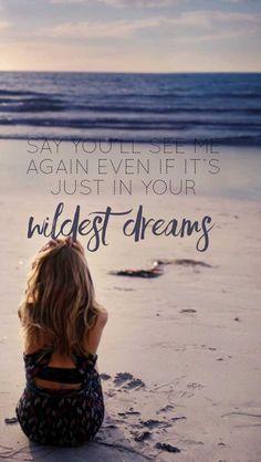 Wildest Dreams- Taylor Swift