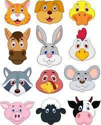 maschere animali