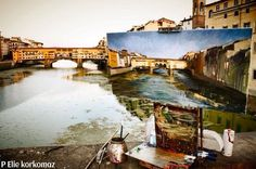 Florence Italy = a real life painting