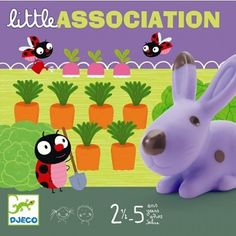 Little Association - game for toddlers, by Djeco, so it's supercute.
