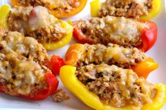 Bell Pepper Nacho Boats | 25+ High Protein Recipes