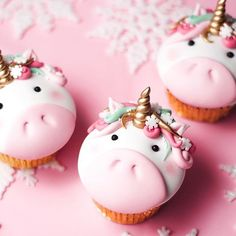 """21 Likes, 3 Comments - The Ardent Bakery (@theardentbakery) on Instagram: """"The most adorable cupcakes ever - by @junipercakery #unicornsarereal"""""""