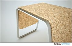 In this work i decided to explore the relationship between two environmental friendly materials to create a bench. The materials of choice are the cork for the base and for the structure recycled aluminum. Cork is a natural material with properties very propicious to comfort and recycled aluminum provides all the rigidity and support needed for durability and lightness that i intended.