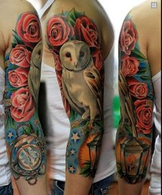 I love this but with different flowers around the owl!