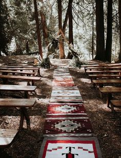 boho chic forest wedding ceremony ideas wedding colors 15 Incredible Forest Wedding Ceremony Ideas - Oh Best Day Ever