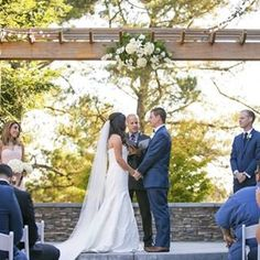 What do you like better: Traditional #vows or writing your own? Tell us! Venue: @wedgewood.napa Photo: @aperfectimpression #wedgewoodweddings #wedding #vows #weddingceremony #ido #engaged #bride #bridetobe #groom #officiant #gettingmarried #2016 #weddingp