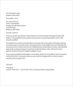 thank you letter after job interview http resumesdesign com