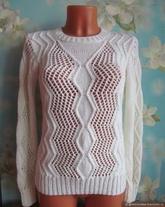 Свитер c центральным узором Sweaters, Fashion, Moda, La Mode, Sweater, Fasion, Fashion Models, Trendy Fashion