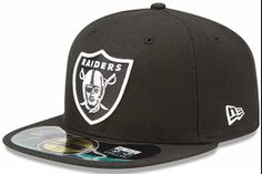 New Era Oakland Raiders On-Field Performance Fitted Hat - Black 115d71e7c6d