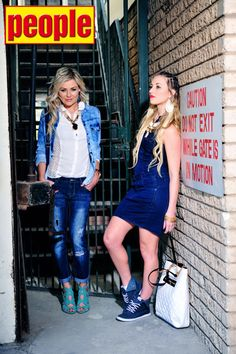 True Blues Shoot #Models: Karlien van Jaarsveld and Lakota Silva #Stylist: Suzy Mukendi Fashion #Assistant: Deneal Florence #Make-up: By Carli Linde #Hair by: Pulse Hair Salon (Jenna) #Photographer: Caileigh Van Der LIinde #FashionTips: TRY wearing contrasting denim washes which will help break up the overall denim-ness of your outfit. BREAK up the outfit with a touch of a bright colour or add chunky jewellery to add edge.