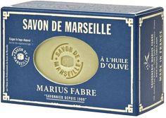 Savon de Marseille � l'huile d'olive Marius Fabre. Le savon de Marseille r�v�le…