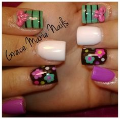 Acrylic nails by Grace Marie